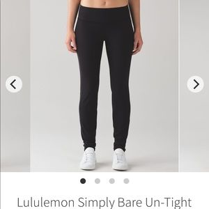 Lululemon Simply Bare Un-Tight Tight